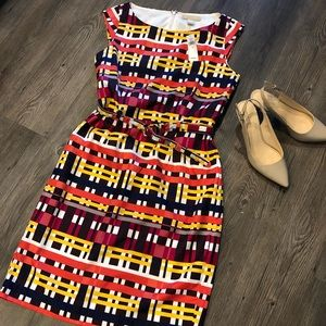 Banana Republic dress with matching belt